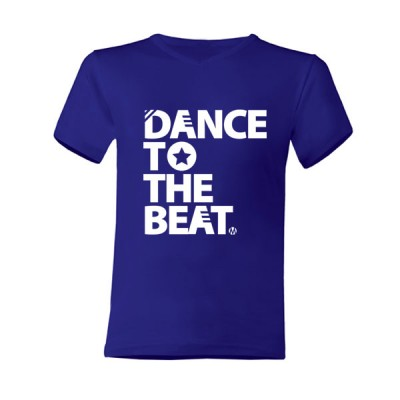 Dance to the Beat T-Shirt Blauw
