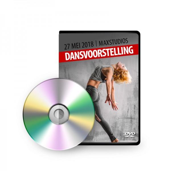 DVD + Foto's Dansvoorstelling - 27 mei 2018