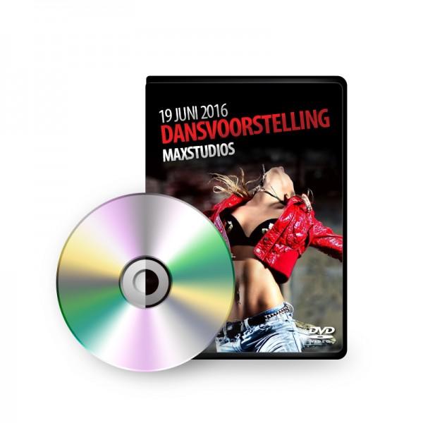 DVD + 1000 Foto's Dansvoorstelling - 19 juni 2016